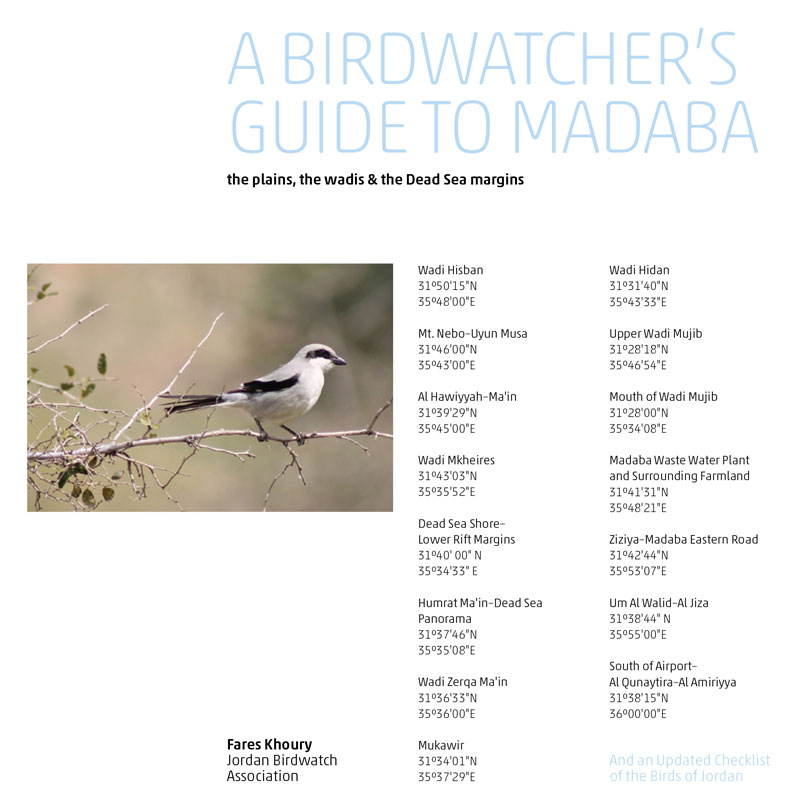JBW A birdwatcher's guide to Madaba