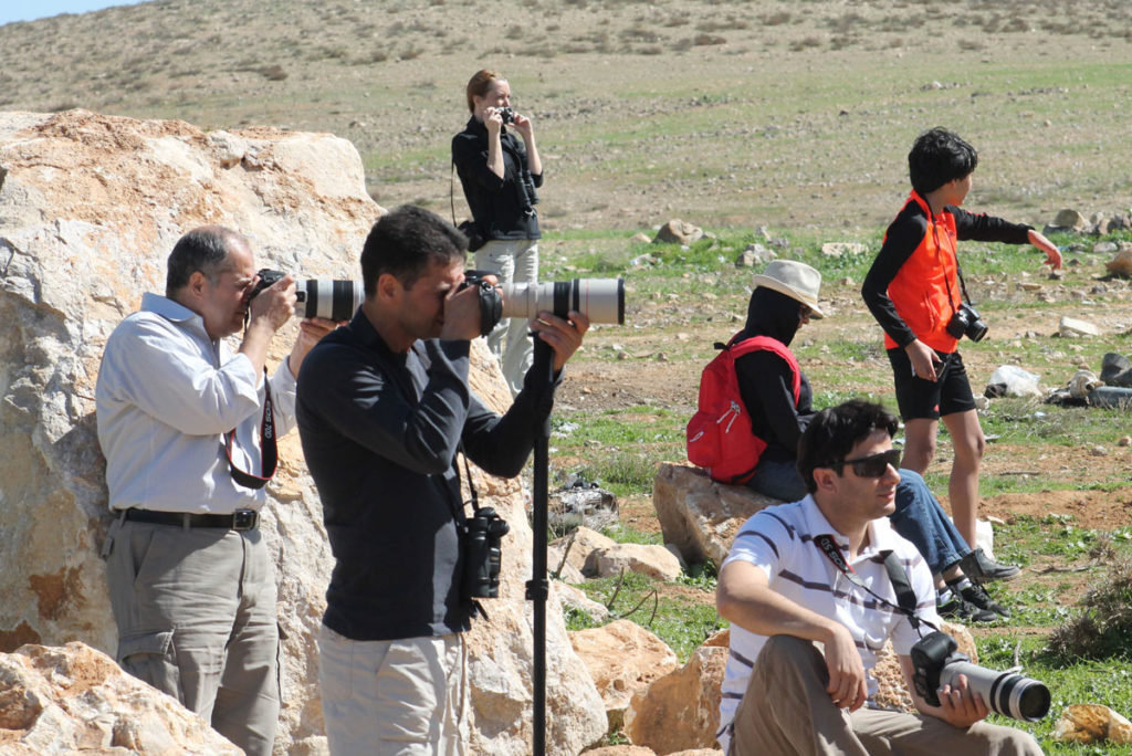 JBW birdwatchers during fiield trip