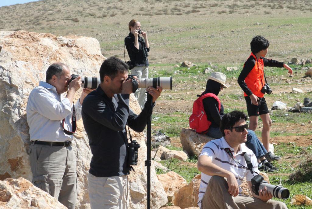 JBW birdwatchers during a field trip