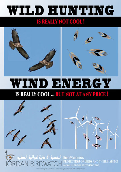 dangers about wild hunting and wind energy by jbw